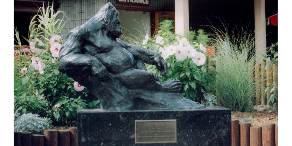 Gorilla Monument at the Denver Zoo