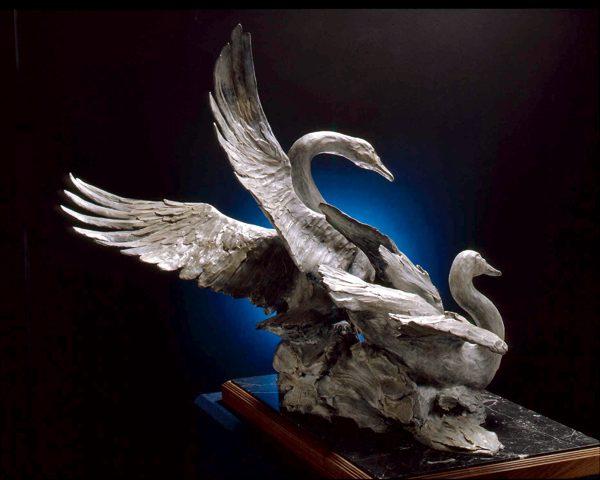 Tundra Swans Monument