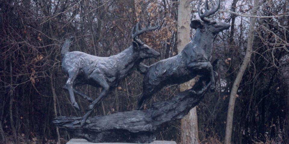 Whitetail Deer Monument